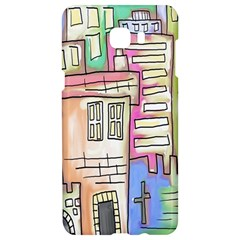 A Village Drawn In A Doodle Style Samsung C9 Pro Hardshell Case  by BangZart