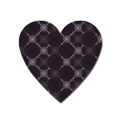 Abstract Seamless Pattern Background Heart Magnet by BangZart