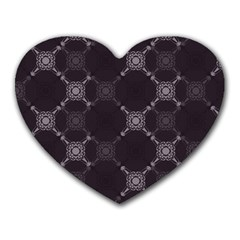 Abstract Seamless Pattern Background Heart Mousepads