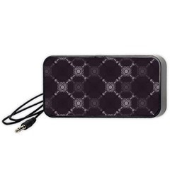 Abstract Seamless Pattern Background Portable Speaker (black) by BangZart