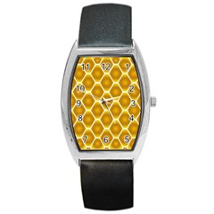 Snake Abstract Pattern Barrel Style Metal Watch by BangZart
