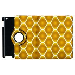 Snake Abstract Pattern Apple Ipad 3/4 Flip 360 Case by BangZart