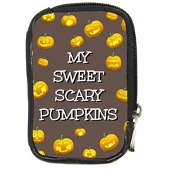 Hallowen My Sweet Scary Pumkins Compact Camera Cases by BangZart