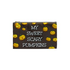 Hallowen My Sweet Scary Pumkins Cosmetic Bag (small)  by BangZart