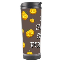 Hallowen My Sweet Scary Pumkins Travel Tumbler by BangZart