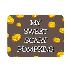 Hallowen My Sweet Scary Pumkins Double Sided Flano Blanket (mini)  by BangZart