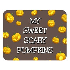 Hallowen My Sweet Scary Pumkins Double Sided Flano Blanket (large)  by BangZart