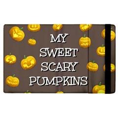 Hallowen My Sweet Scary Pumkins Apple Ipad Pro 9 7   Flip Case by BangZart