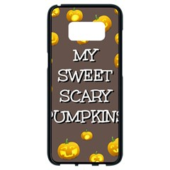 Hallowen My Sweet Scary Pumkins Samsung Galaxy S8 Black Seamless Case by BangZart