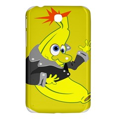Funny Cartoon Punk Banana Illustration Samsung Galaxy Tab 3 (7 ) P3200 Hardshell Case  by BangZart