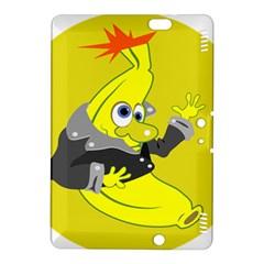 Funny Cartoon Punk Banana Illustration Kindle Fire Hdx 8 9  Hardshell Case by BangZart