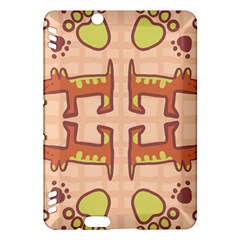 Pet Dog Design  Tileable Doodle Dog Art Kindle Fire Hdx Hardshell Case