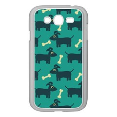 Happy Dogs Animals Pattern Samsung Galaxy Grand Duos I9082 Case (white) by BangZart