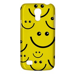 Digitally Created Yellow Happy Smile  Face Wallpaper Galaxy S4 Mini by BangZart