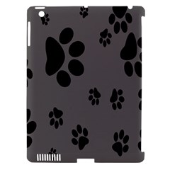 Dog Foodprint Paw Prints Seamless Background And Pattern Apple Ipad 3/4 Hardshell Case (compatible With Smart Cover) by BangZart