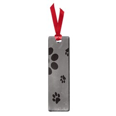 Dog Foodprint Paw Prints Seamless Background And Pattern Small Book Marks by BangZart