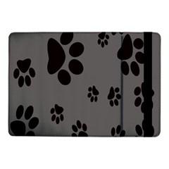 Dog Foodprint Paw Prints Seamless Background And Pattern Samsung Galaxy Tab Pro 10 1  Flip Case by BangZart