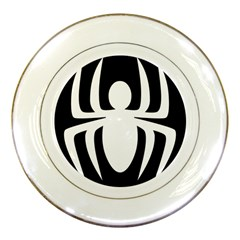 White Spider Porcelain Plates by BangZart