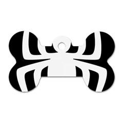 White Spider Dog Tag Bone (one Side) by BangZart