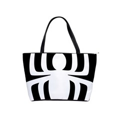 White Spider Shoulder Handbags by BangZart