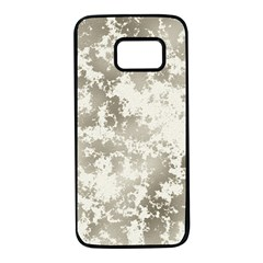 Wall Rock Pattern Structure Dirty Samsung Galaxy S7 Black Seamless Case by BangZart