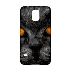Cat Eyes Background Image Hypnosis Samsung Galaxy S5 Hardshell Case  by BangZart