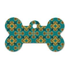 Vintage Pattern Unique Elegant Dog Tag Bone (two Sides) by BangZart