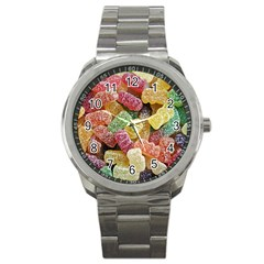 Jelly Beans Candy Sour Sweet Sport Metal Watch by BangZart