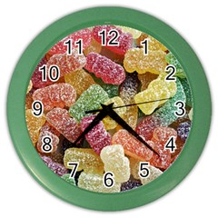 Jelly Beans Candy Sour Sweet Color Wall Clocks by BangZart