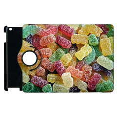 Jelly Beans Candy Sour Sweet Apple Ipad 2 Flip 360 Case by BangZart