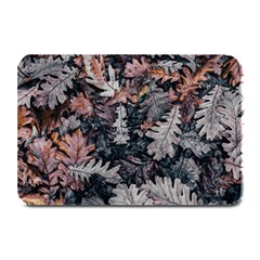 Leaf Leaves Autumn Fall Brown Plate Mats by BangZart