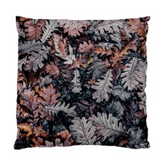 Leaf Leaves Autumn Fall Brown Standard Cushion Case (one Side) by BangZart