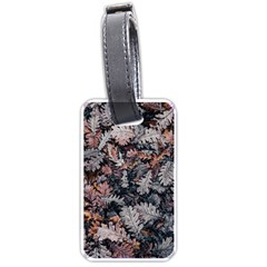 Leaf Leaves Autumn Fall Brown Luggage Tags (one Side)  by BangZart