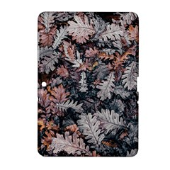 Leaf Leaves Autumn Fall Brown Samsung Galaxy Tab 2 (10 1 ) P5100 Hardshell Case  by BangZart