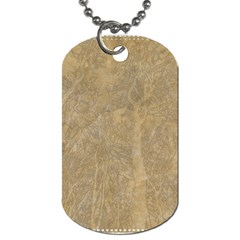 Abstract Forest Trees Age Aging Dog Tag (two Sides) by BangZart