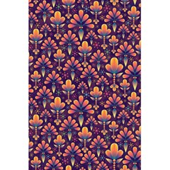 Abstract Background Floral Pattern 5 5  X 8 5  Notebooks by BangZart