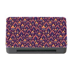 Abstract Background Floral Pattern Memory Card Reader With Cf by BangZart