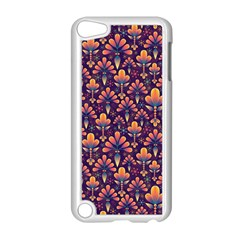 Abstract Background Floral Pattern Apple Ipod Touch 5 Case (white) by BangZart