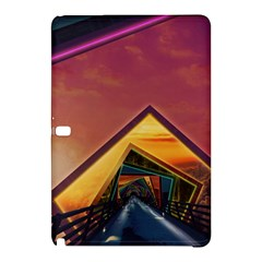 The Rainbow Bridge Of A Thousand Fractal Colors Samsung Galaxy Tab Pro 10 1 Hardshell Case by beautifulfractals