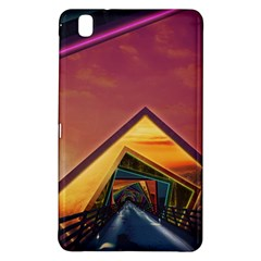 The Rainbow Bridge Of A Thousand Fractal Colors Samsung Galaxy Tab Pro 8 4 Hardshell Case by beautifulfractals