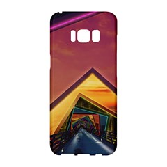 The Rainbow Bridge Of A Thousand Fractal Colors Samsung Galaxy S8 Hardshell Case