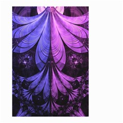 Beautiful Lilac Fractal Feathers Of The Starling Small Garden Flag (two Sides) by beautifulfractals