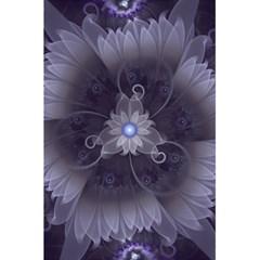 Amazing Fractal Triskelion Purple Passion Flower 5 5  X 8 5  Notebooks by beautifulfractals