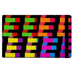 Colorful Rectangles And Squares                  Kindle Fire (1st Gen) Flip Case by LalyLauraFLM