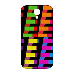 Colorful rectangles and squares                  Samsung Note 2 N7100 Hardshell Back Case by LalyLauraFLM