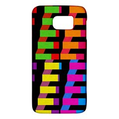 Colorful Rectangles And Squares                  Htc One M9 Hardshell Case by LalyLauraFLM