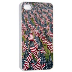 Repetition Retro Wallpaper Stripes Apple Iphone 4/4s Seamless Case (white) by BangZart