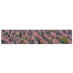 Repetition Retro Wallpaper Stripes Flano Scarf (small) by BangZart