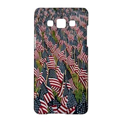 Repetition Retro Wallpaper Stripes Samsung Galaxy A5 Hardshell Case  by BangZart