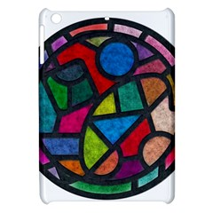 Stained Glass Color Texture Sacra Apple Ipad Mini Hardshell Case by BangZart